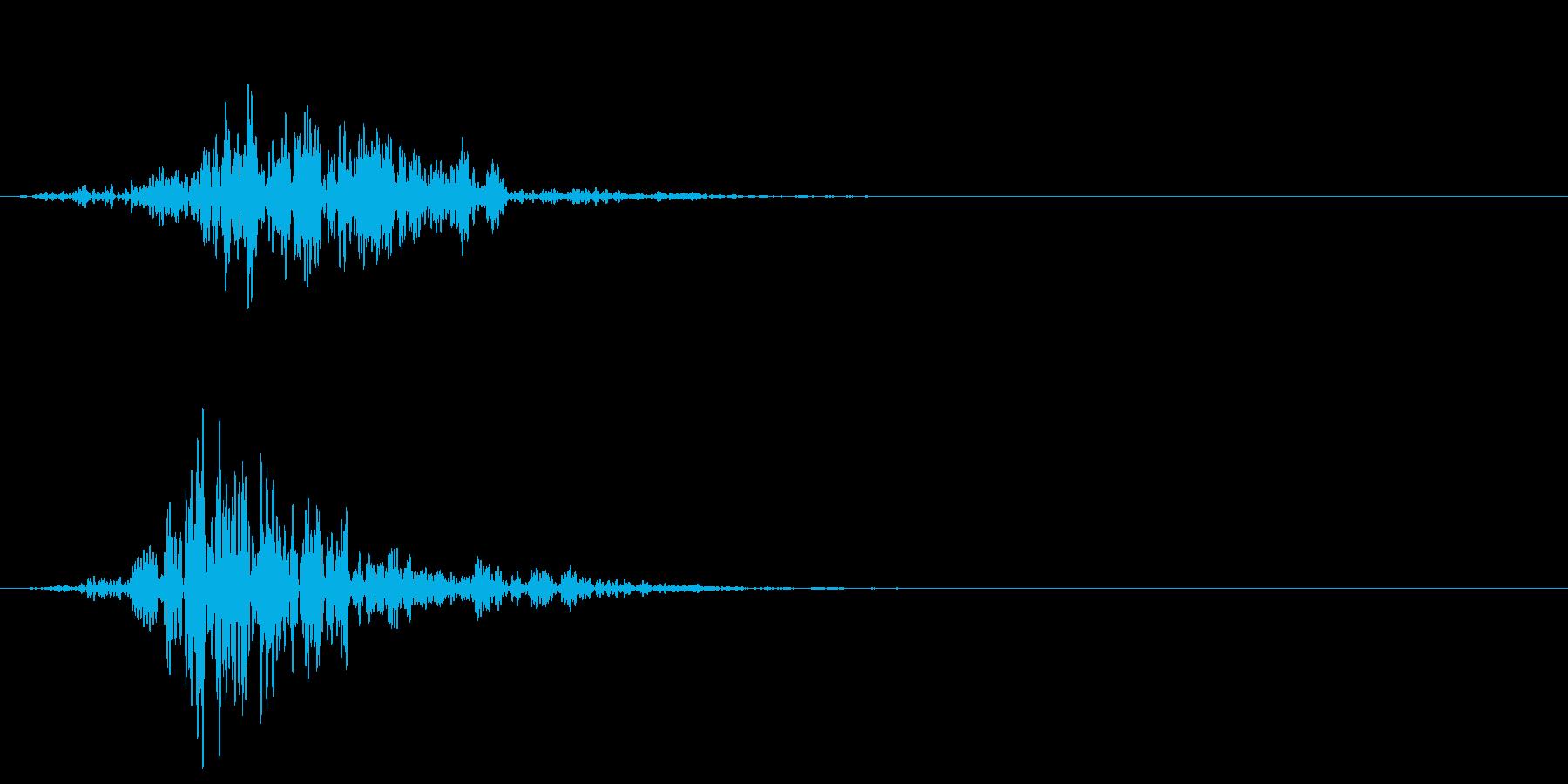 シネマティック 風切り インパクト!10の再生済みの波形