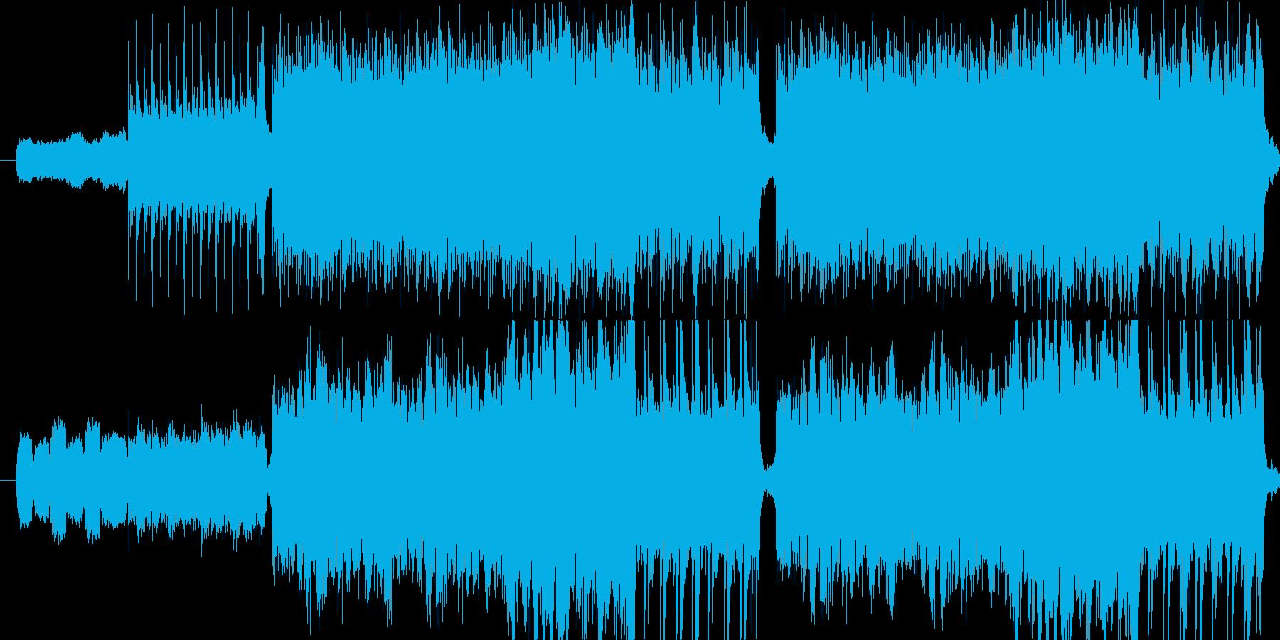 ゲーム音楽用です。中ボス~大ボスの戦闘…の再生済みの波形