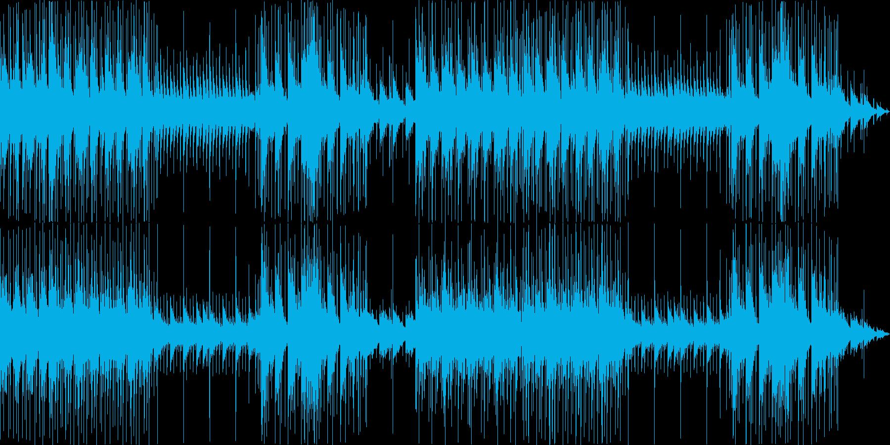 ピアノとドラムによる切なく甘いBGMの再生済みの波形