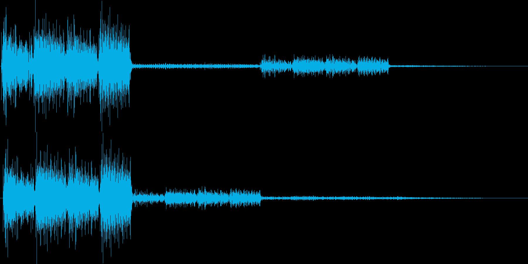 テロリラ(決定、アイテム、サイバー)の再生済みの波形