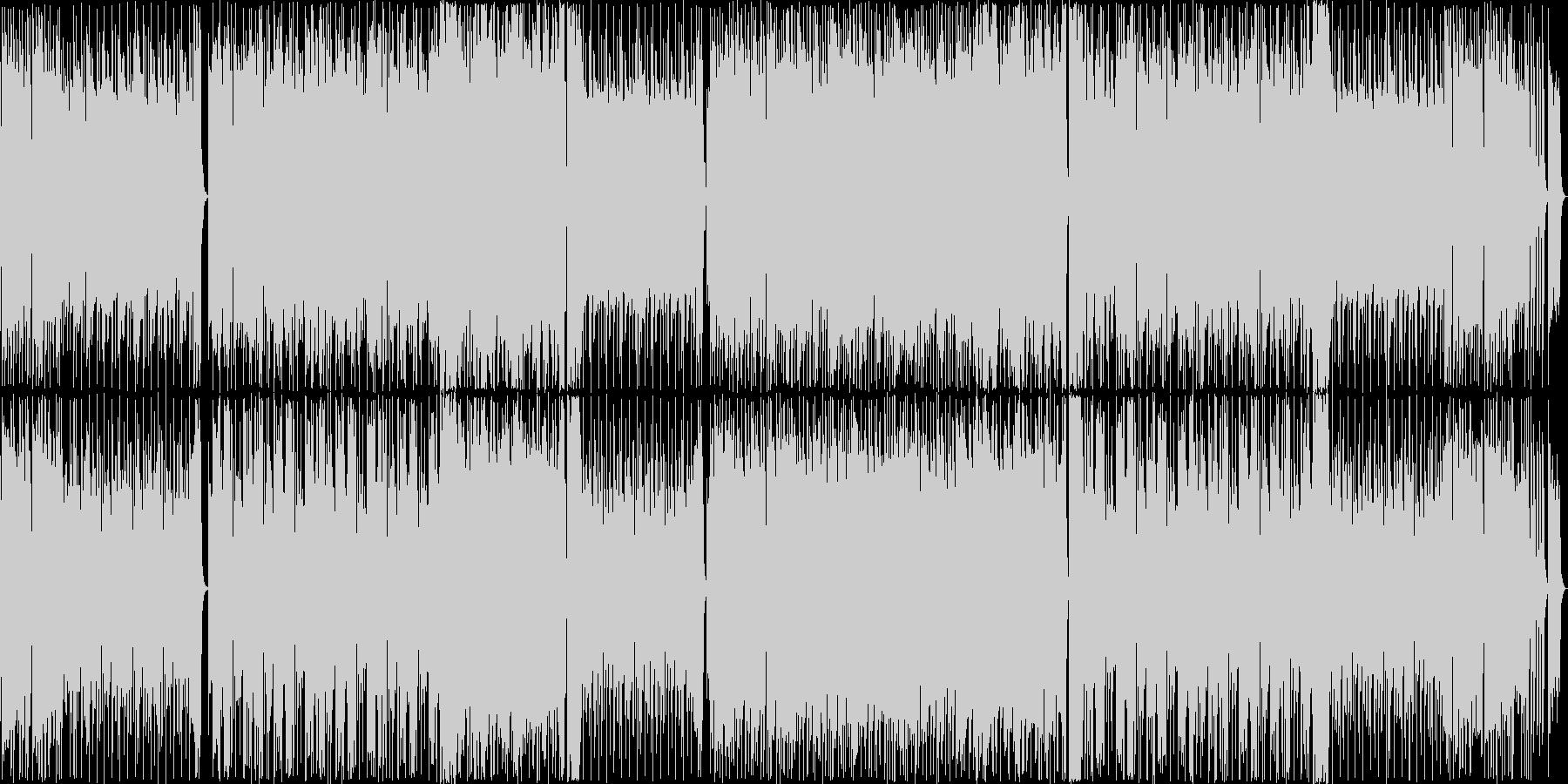 王道カッコイイ系フュージョンの未再生の波形