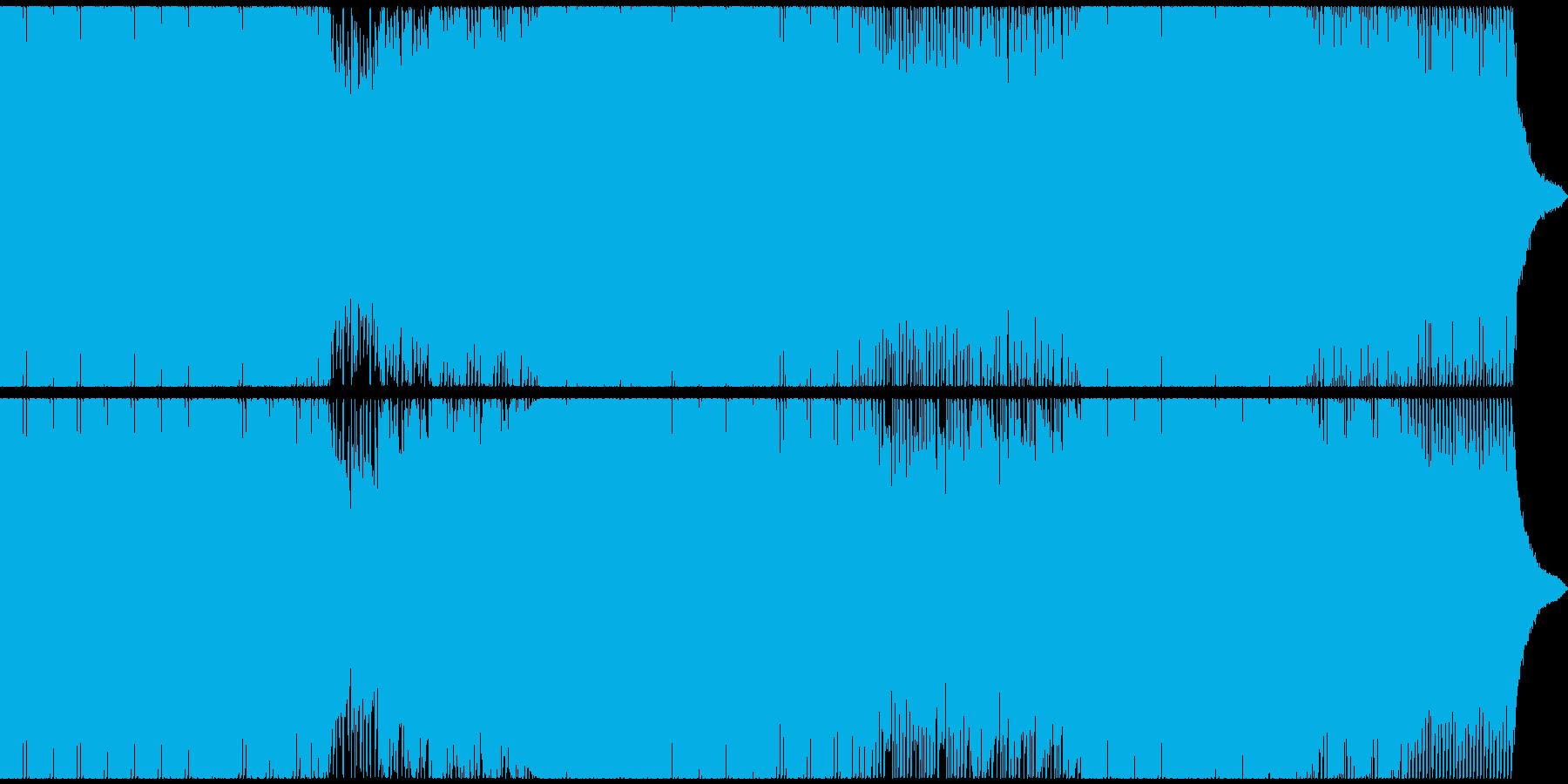 哀愁のあるエレクトロポップEDMの再生済みの波形
