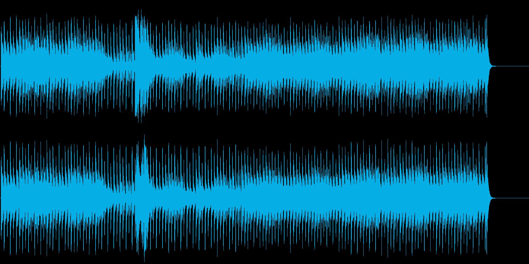 不安で怪しげなマイナーテクノドキュメントの再生済みの波形