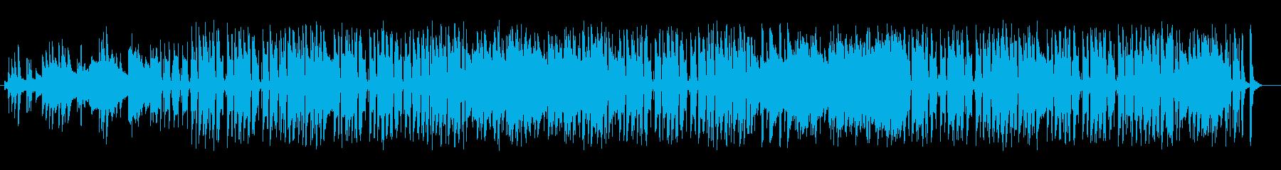 ゆったり優しいピアノサウンドの再生済みの波形