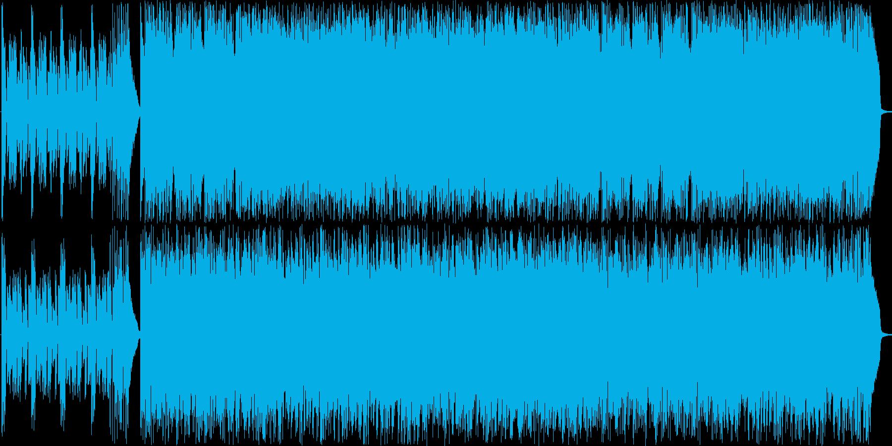 やりたい放題のプログレッシブジャズの再生済みの波形
