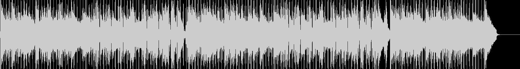 ギターのシンプルなショッピングBGMの未再生の波形