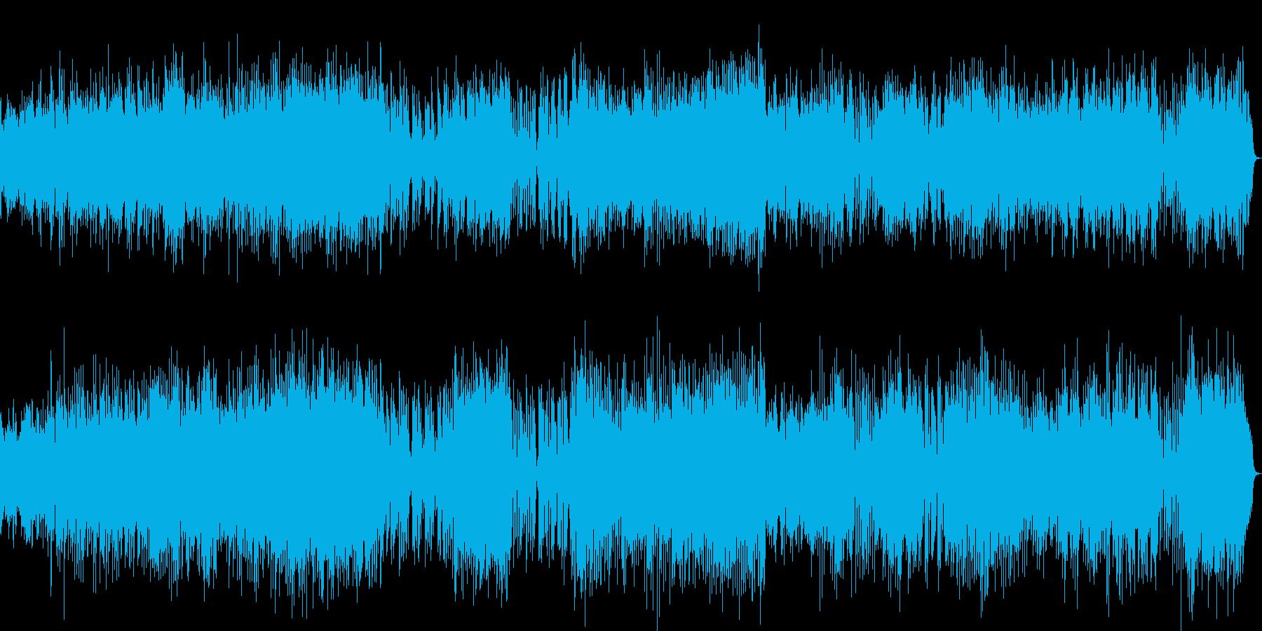 チェンバロの豪華な曲・2楽章(バッハ)の再生済みの波形