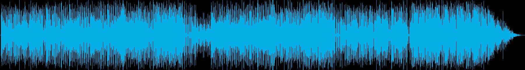 綺麗で軽快なポップミュージックの再生済みの波形