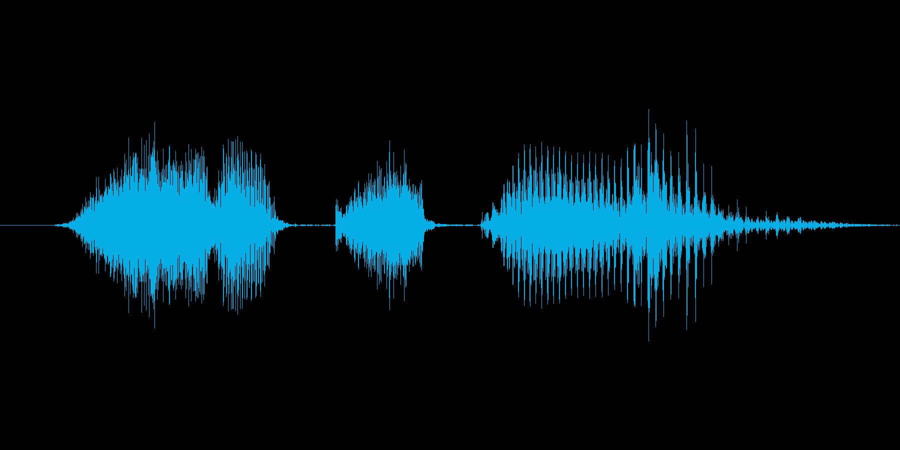 「6 PM」英語発音の再生済みの波形