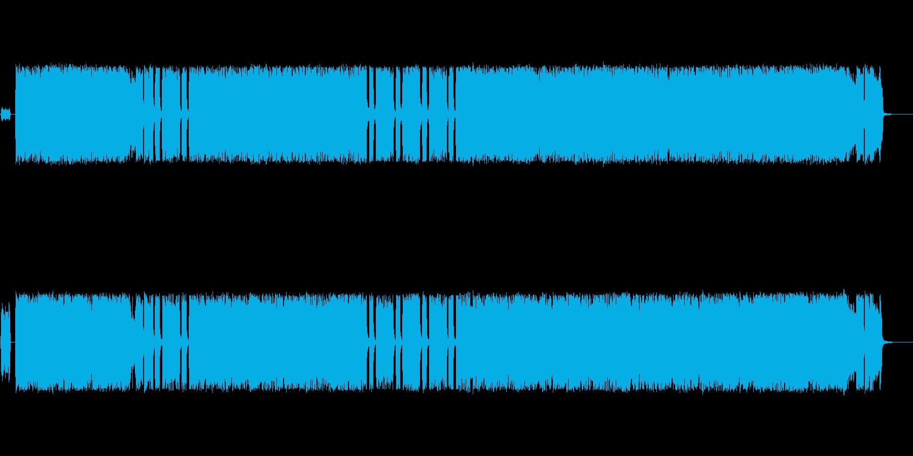 しっとりしたパンクロック・メロコア風の再生済みの波形