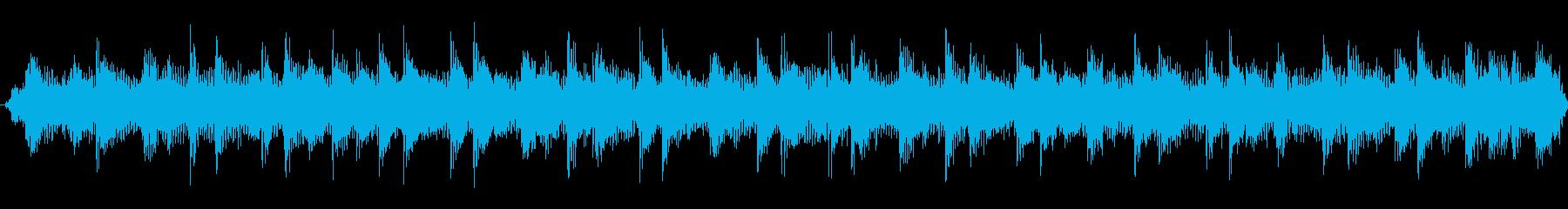 ヘヴィロック風ジングルの再生済みの波形