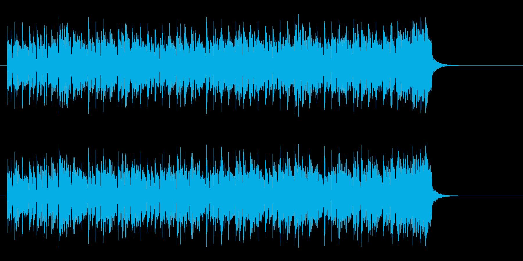 都会のマイナー・ポップス(エンディング)の再生済みの波形