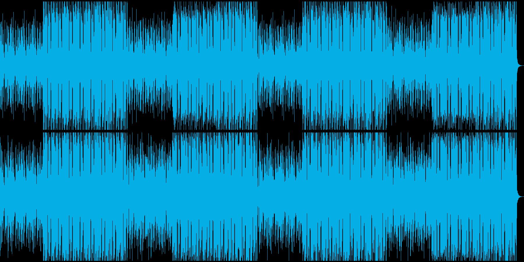 都会的なBGMの再生済みの波形