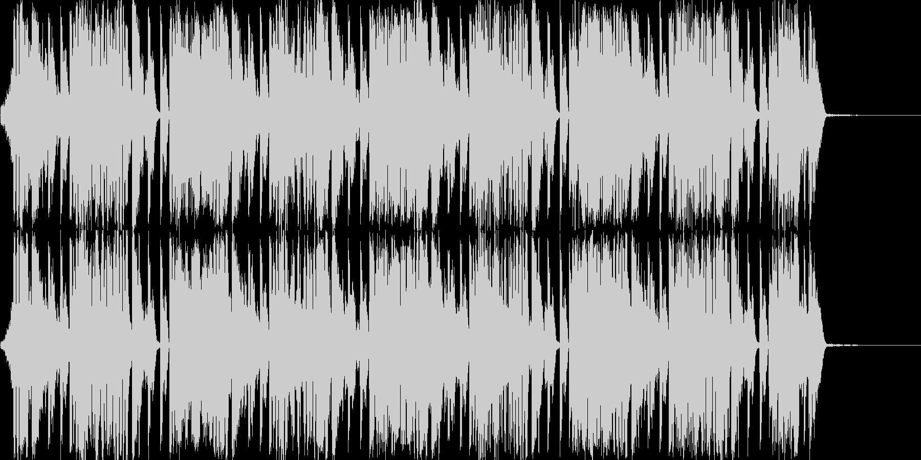 情報系のニュースBGMの未再生の波形
