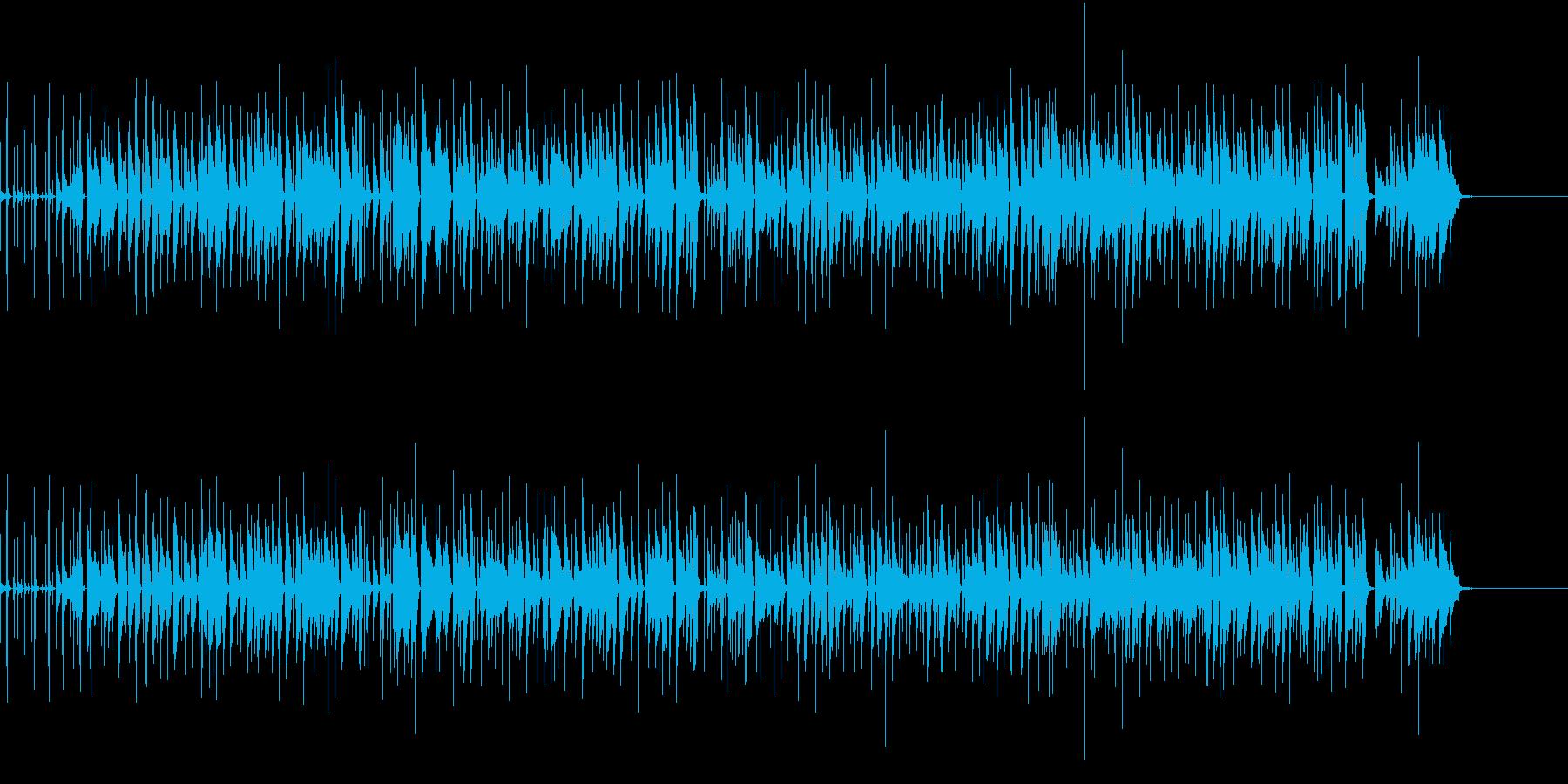 ファンキーなピアノトリオですの再生済みの波形