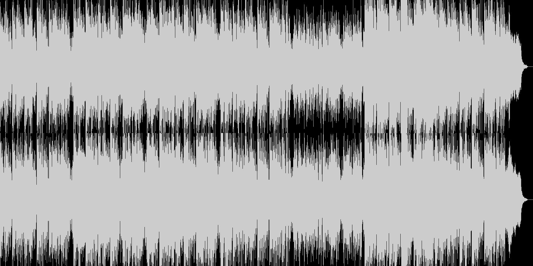 和の感じとアップデート曲の未再生の波形