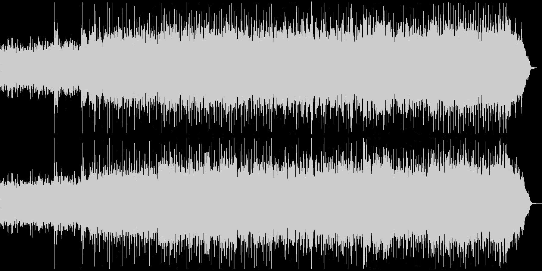 ヘビーメタル バトルフィールドBGMの未再生の波形