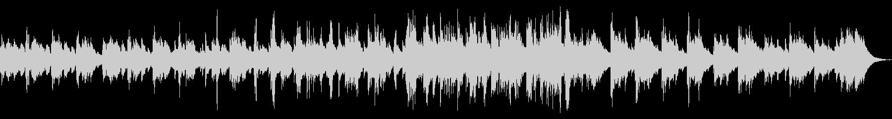 ジャジーでスモーキーなピアノソロの未再生の波形