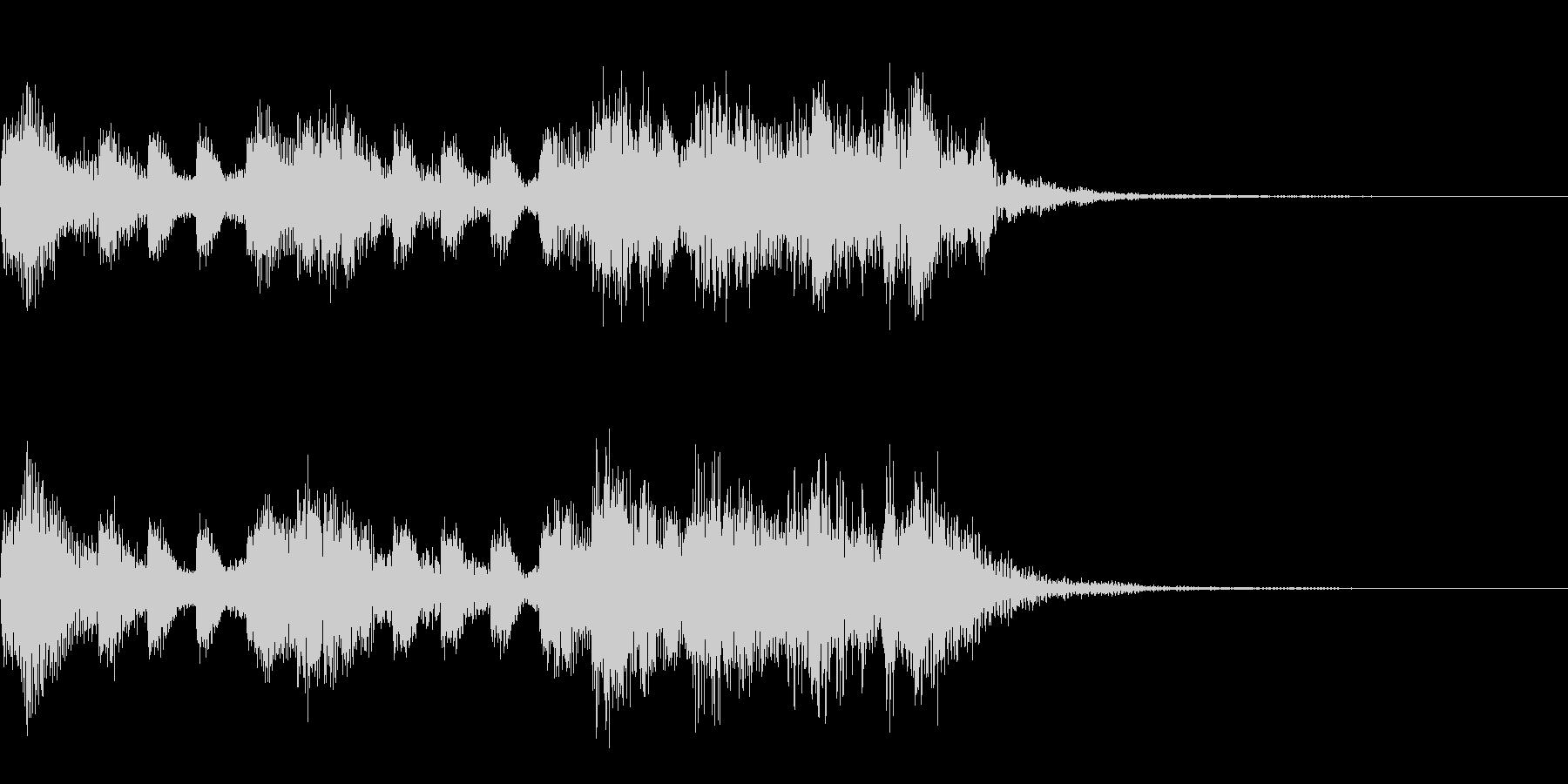 多用途ジングル-2の未再生の波形