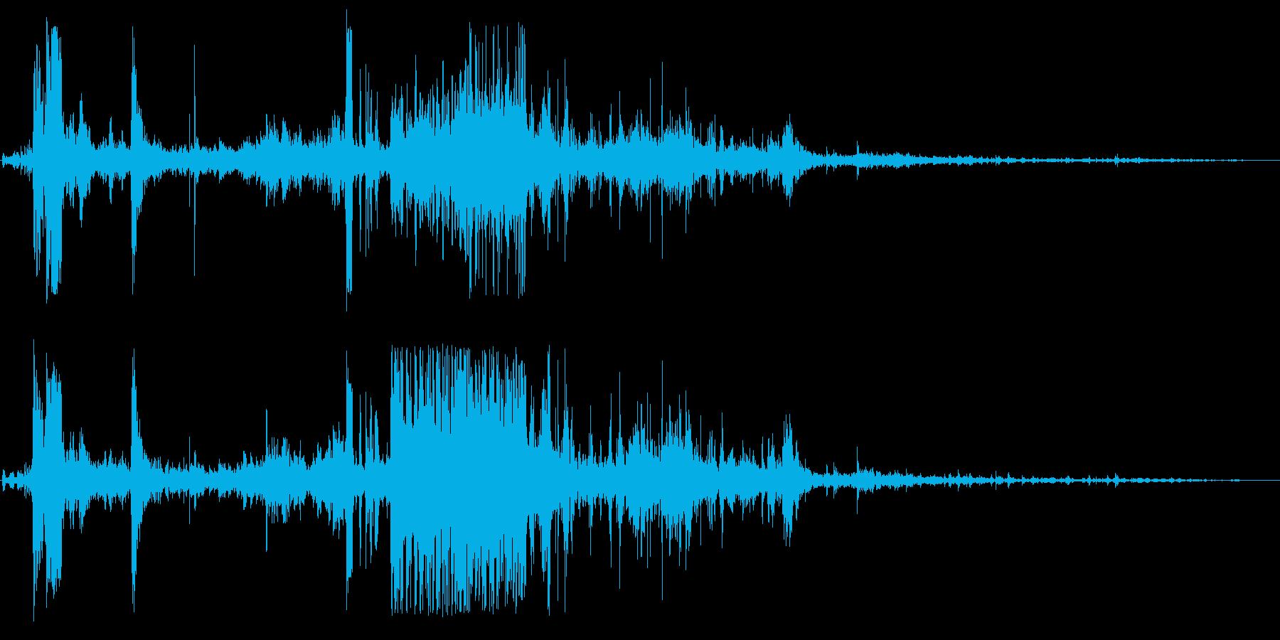 ジャージュルルルルルの再生済みの波形