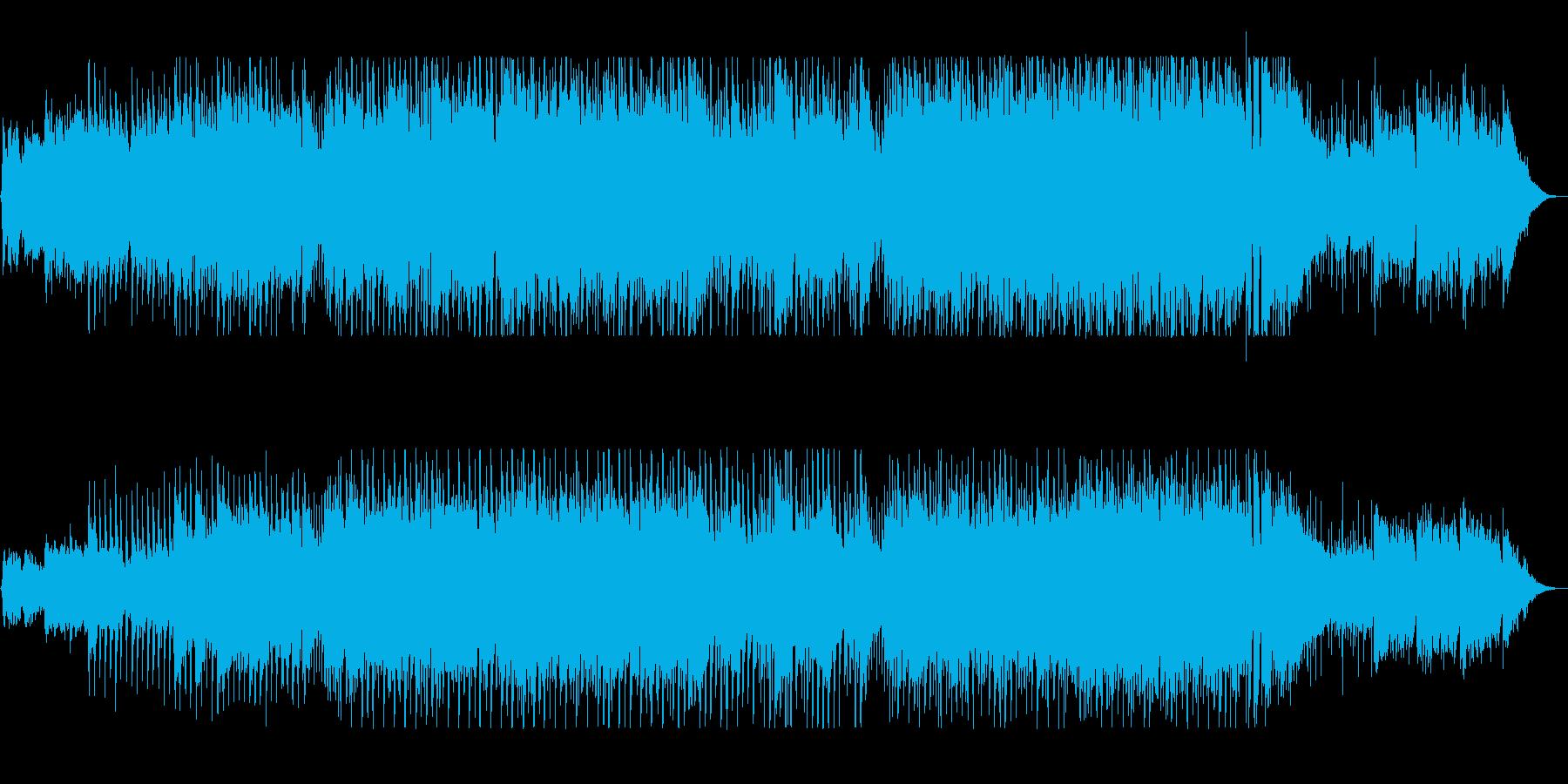 曲の変化が楽しい軽快なギターサウンドの再生済みの波形