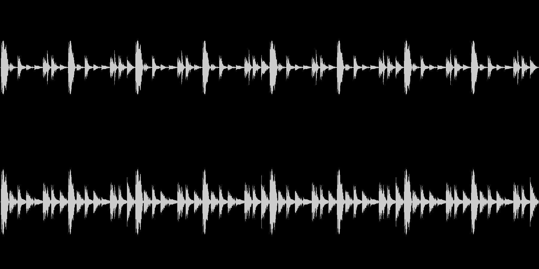 制作方法REASONのサンプラーでTE…の未再生の波形