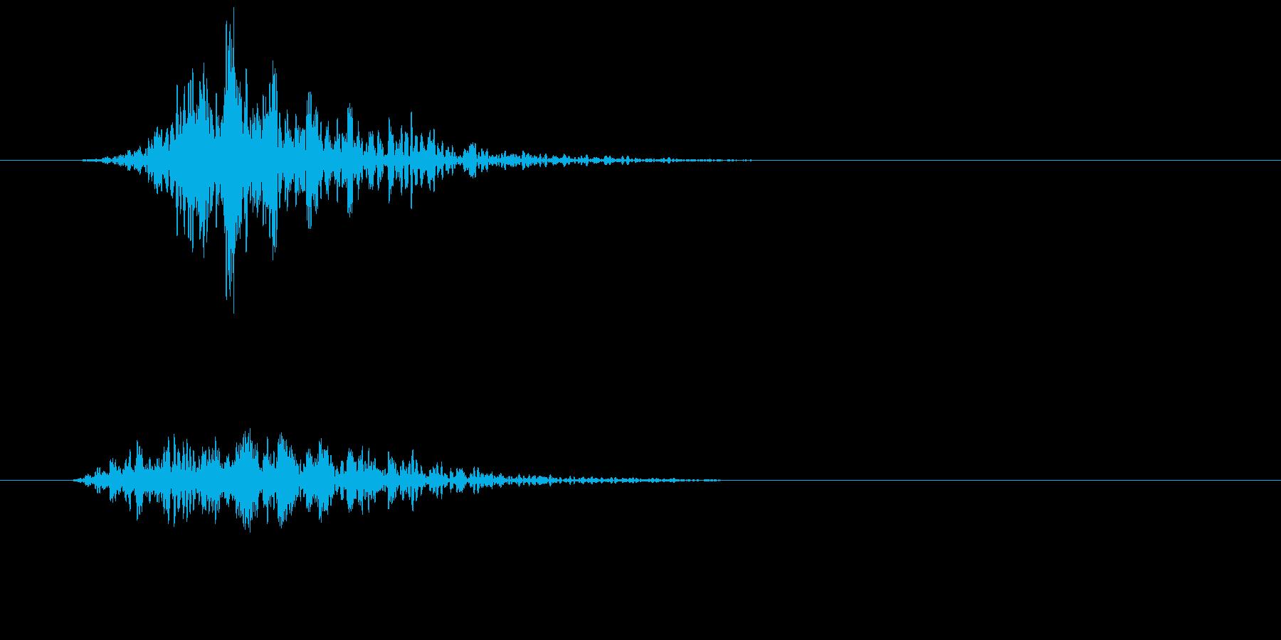 シネマティック 風切り インパクト!12の再生済みの波形