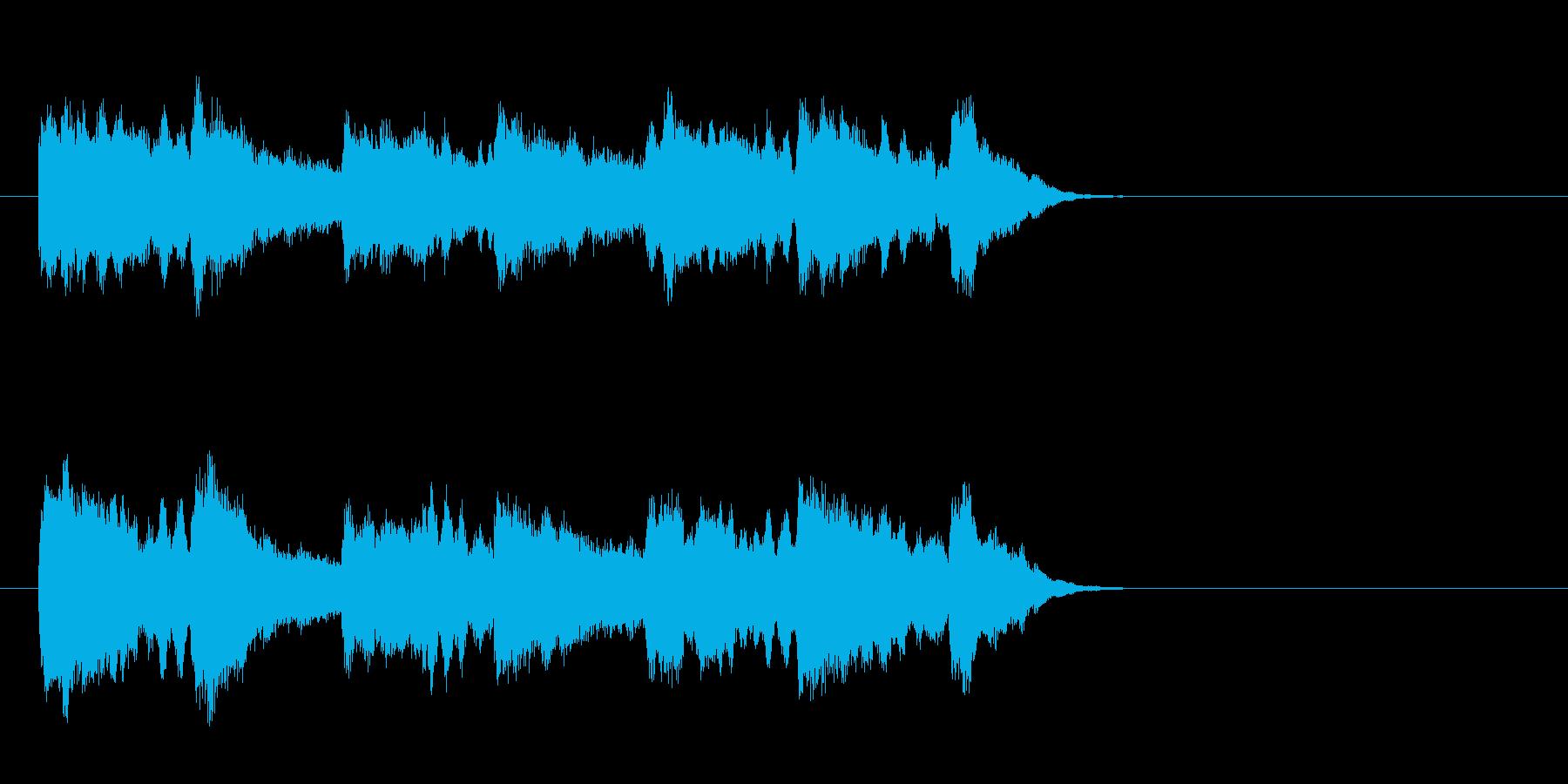 透明なポップバラード(Aメロ)の再生済みの波形