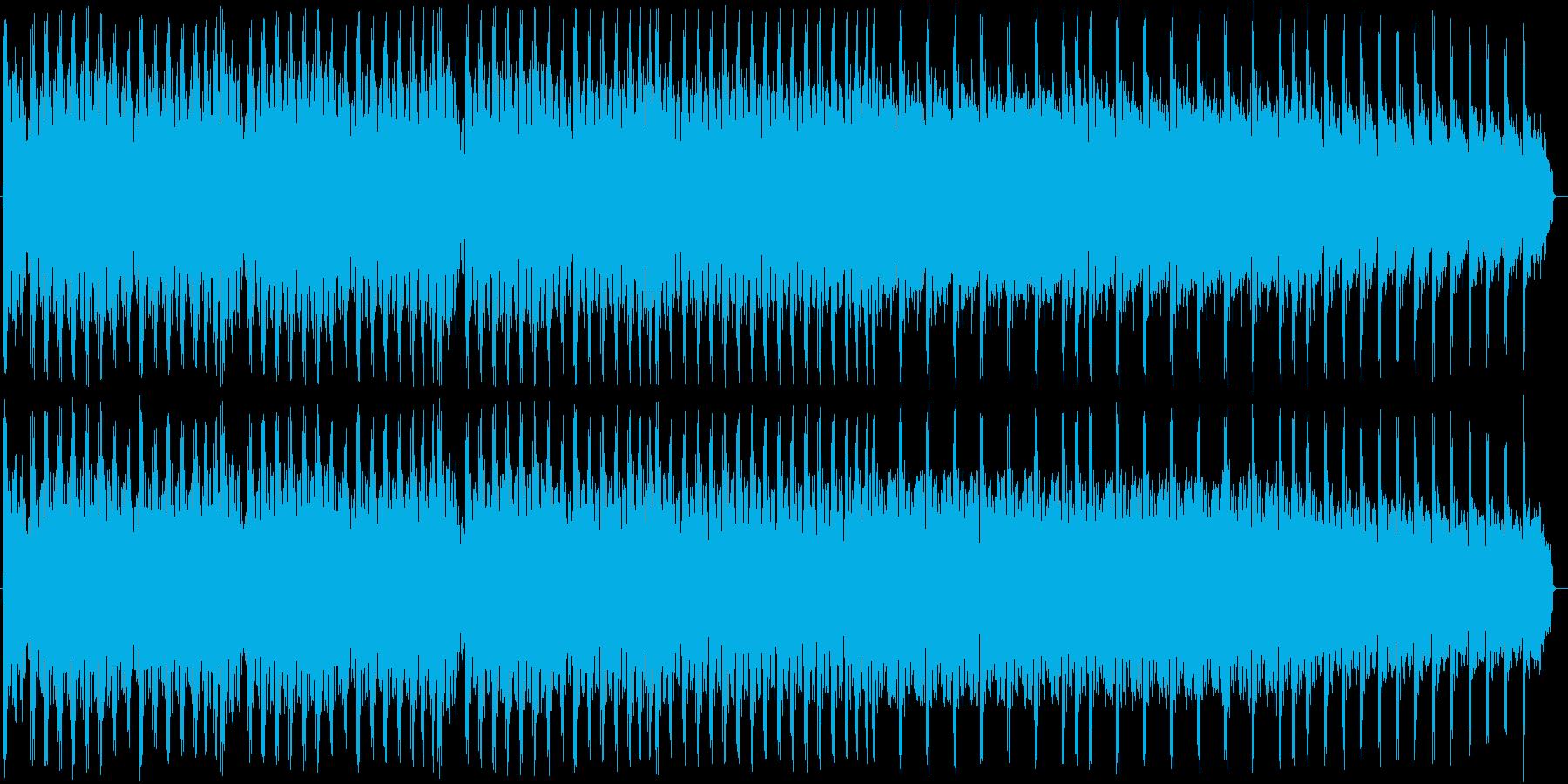 【ド派手なEDMビッグドラムロール】の再生済みの波形