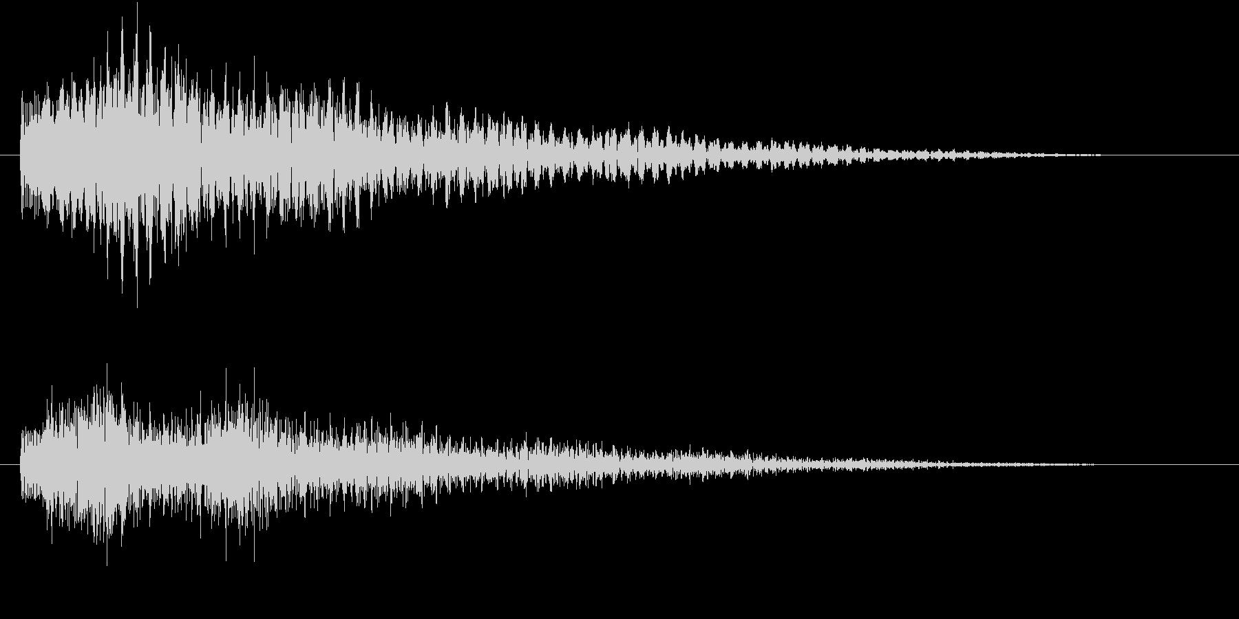幻想的なエレクトリックピアノです。の未再生の波形