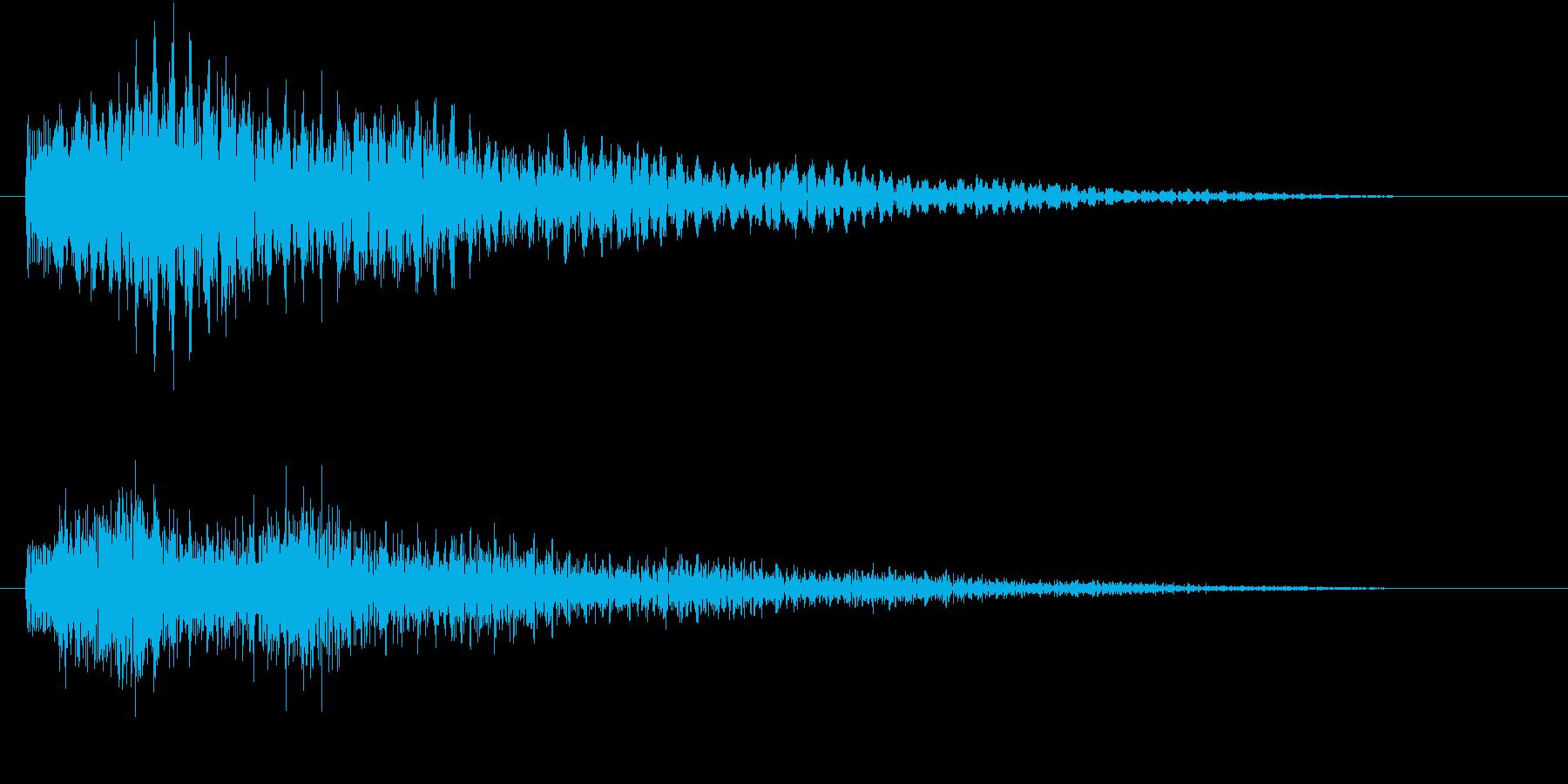 幻想的なエレクトリックピアノです。の再生済みの波形