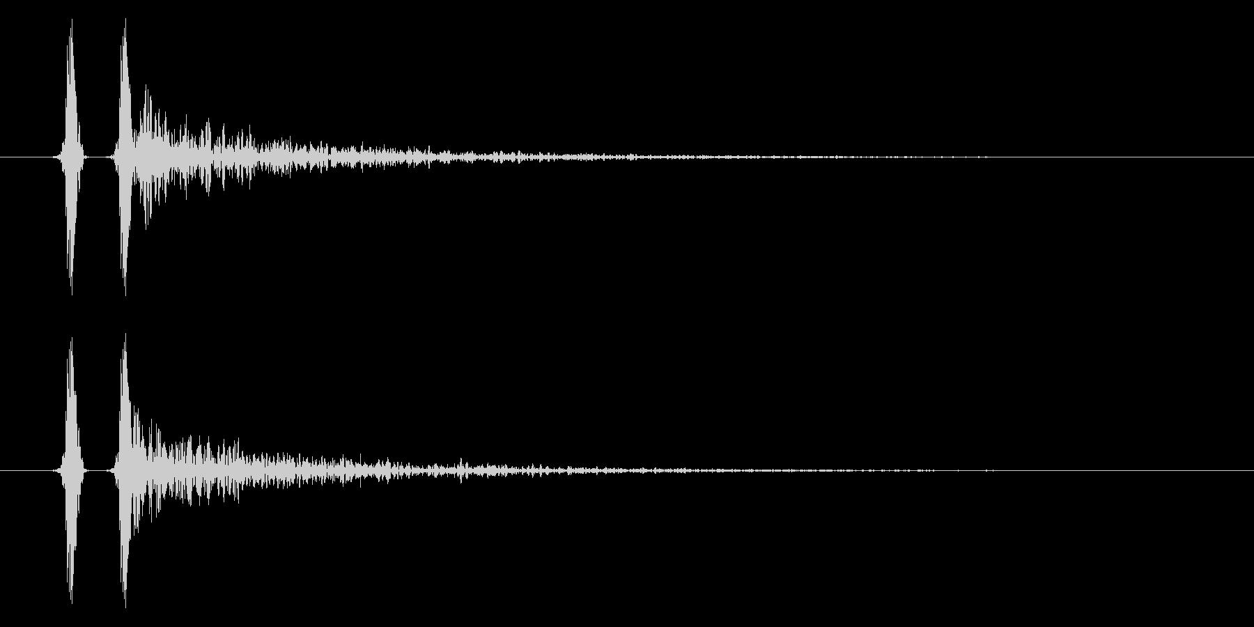 パン!ハンドクラップ/拍手の効果音!03の未再生の波形