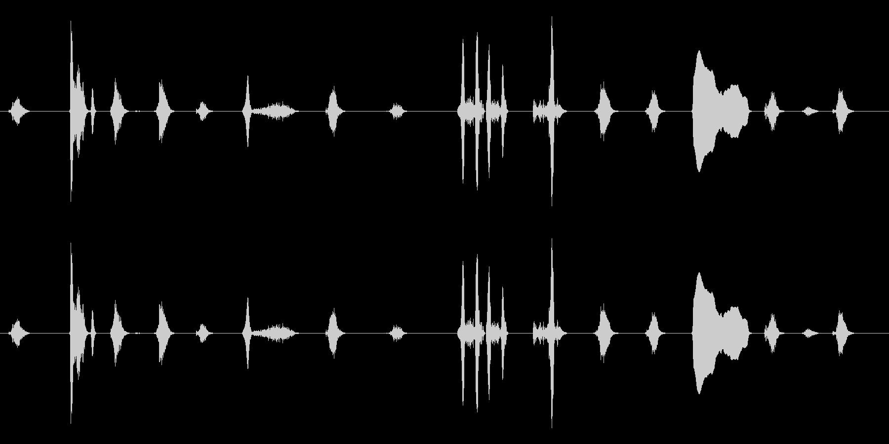 泣き1(ループ可)【すすり泣き】の未再生の波形