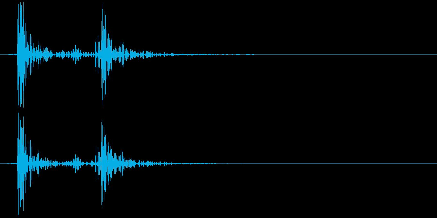 鍋のふた開くOR閉める A (カボッ)の再生済みの波形