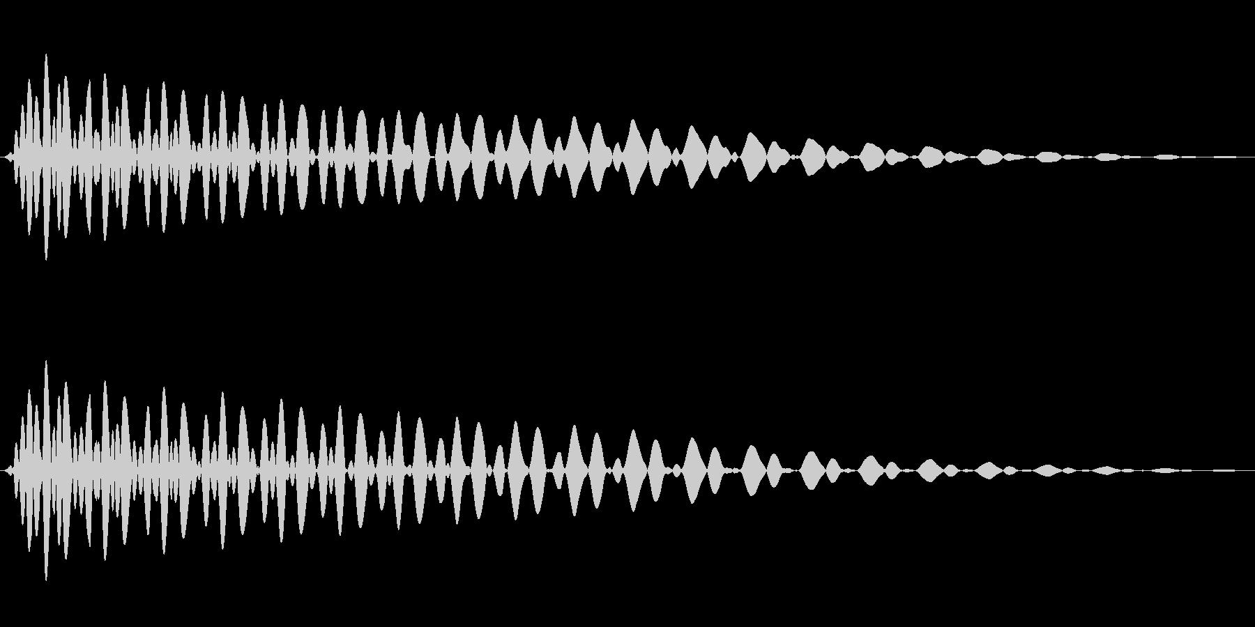 PureTouch アプリ用タッチ音66の未再生の波形