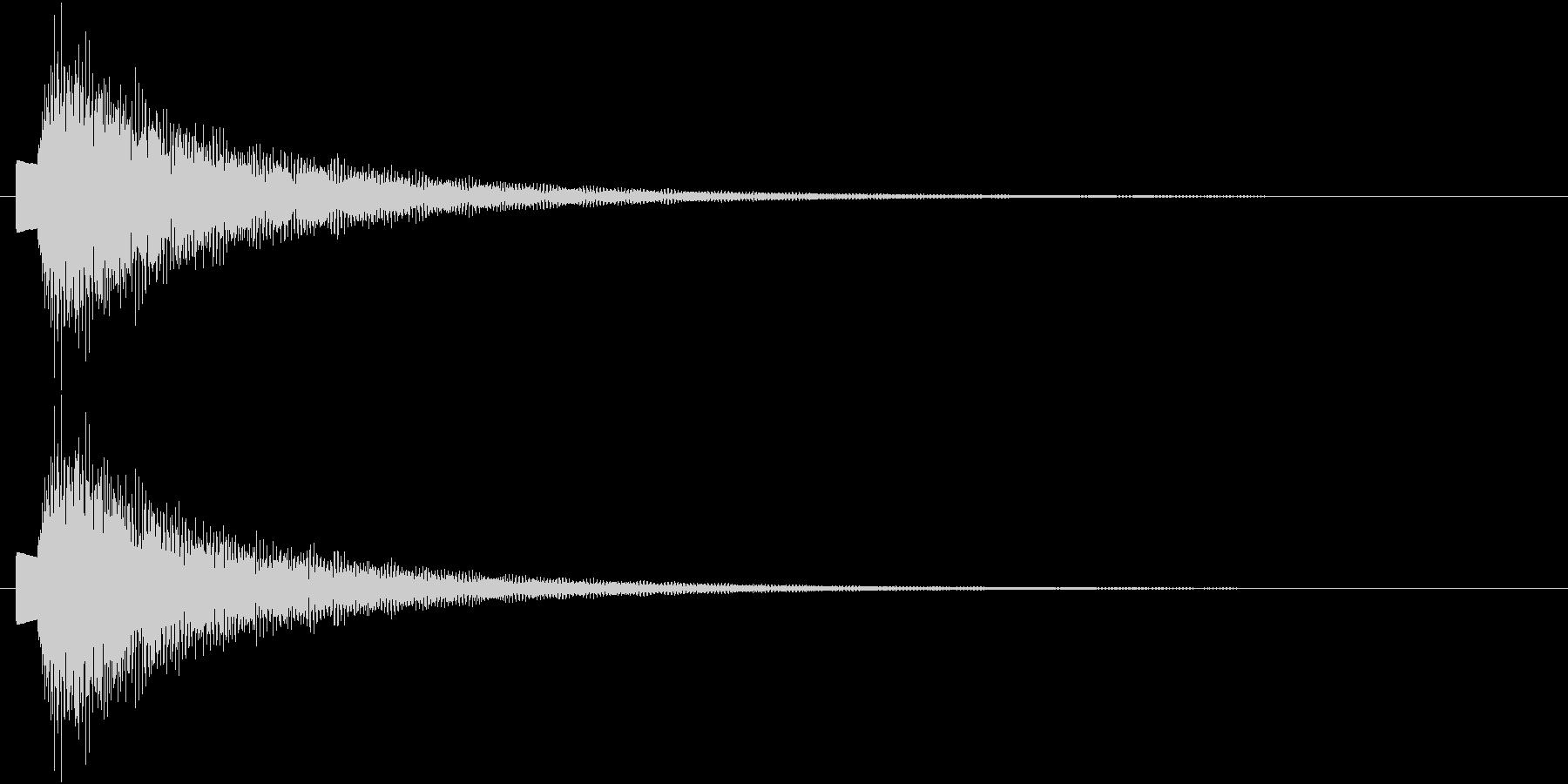エレクトリックピアノ ピロリーンの未再生の波形
