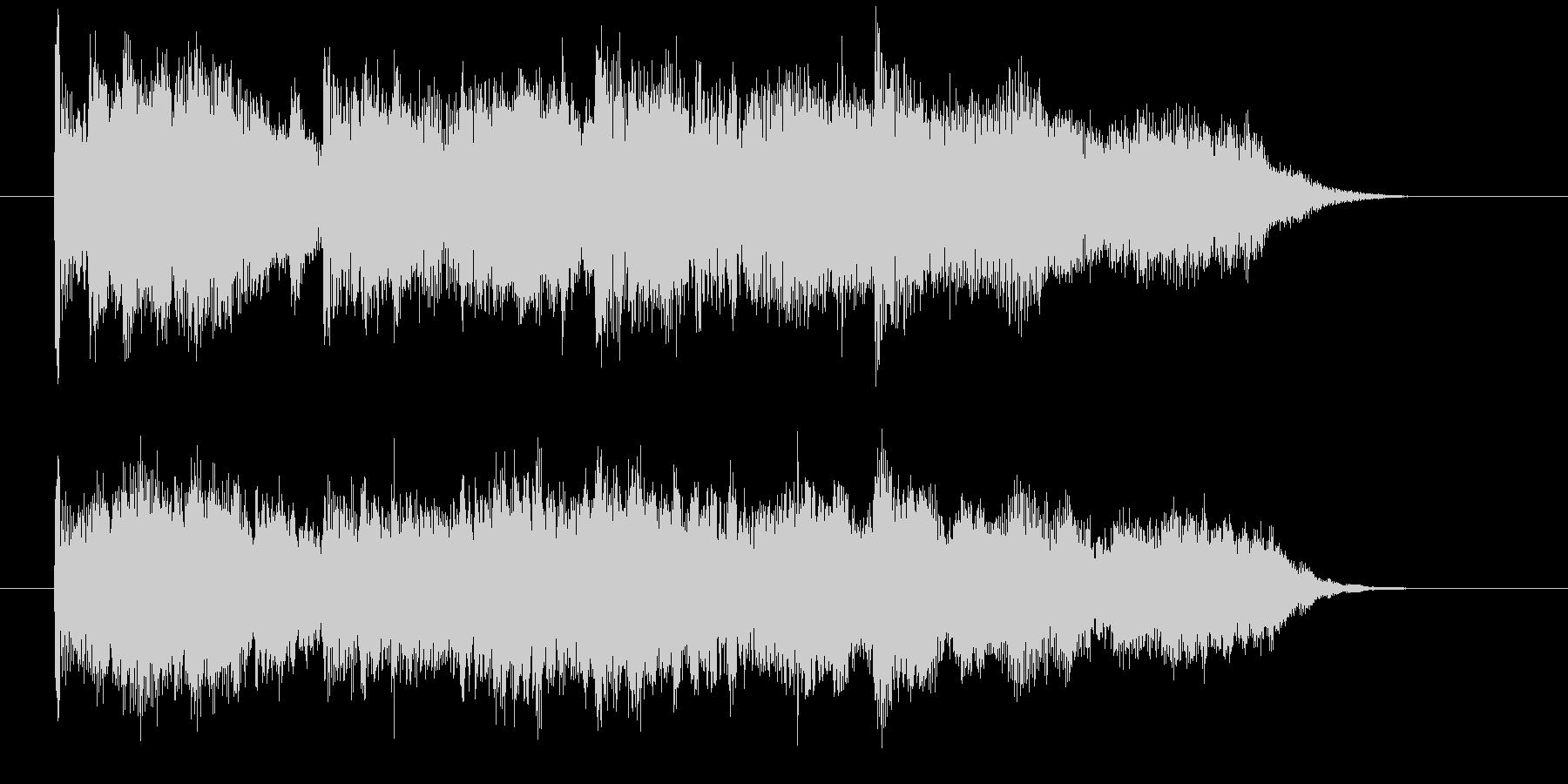 デジタルが奏でるほのぼの演歌の未再生の波形
