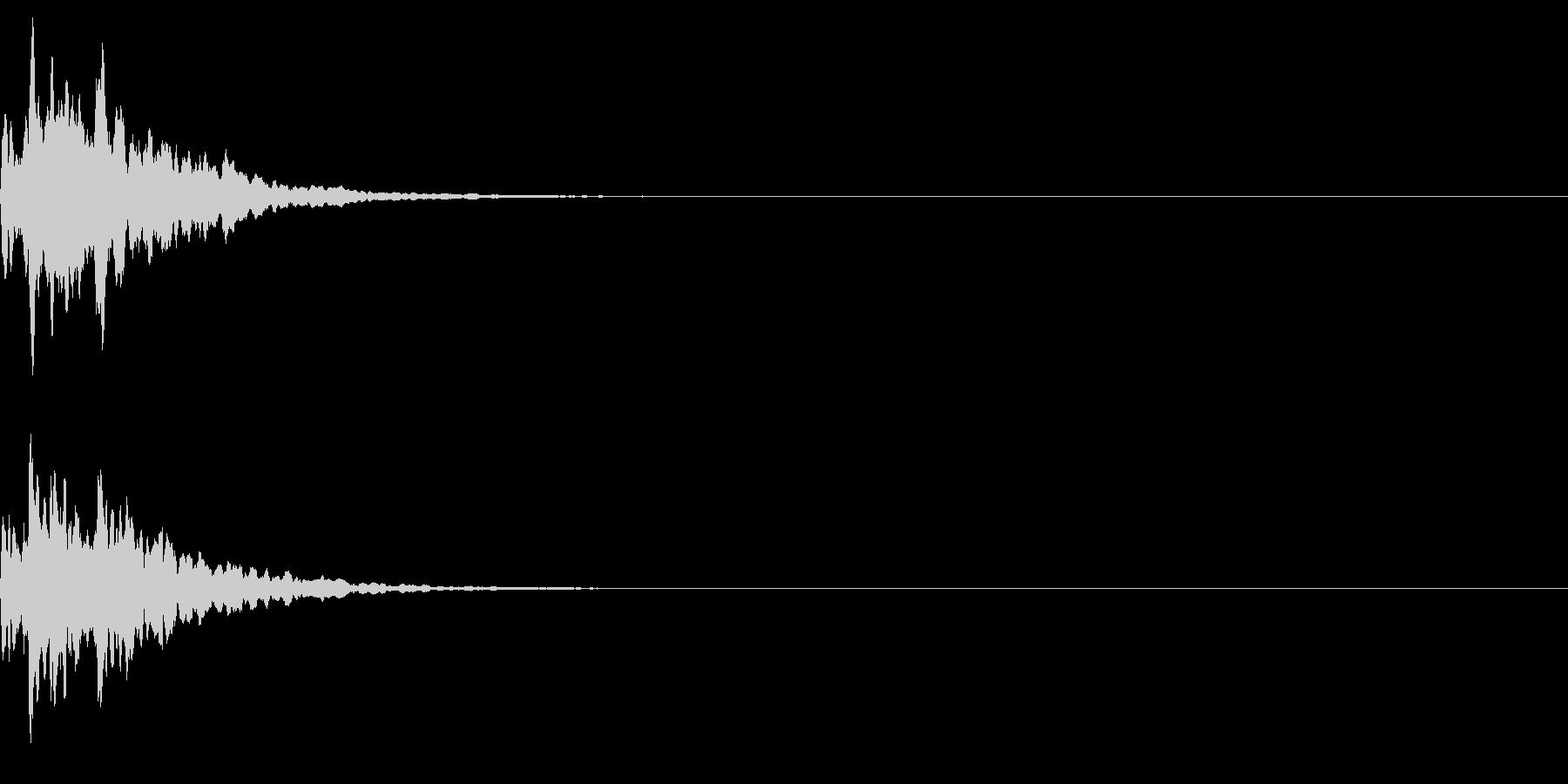 ベル 02(キコーン)の未再生の波形