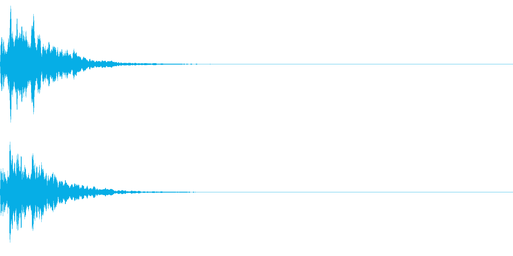 ベル 02(キコーン)の再生済みの波形