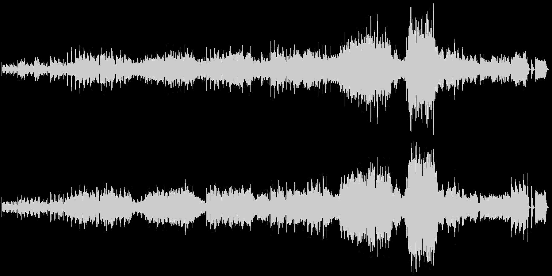 ワルツ 第2番 ピアノ+オケ版の未再生の波形