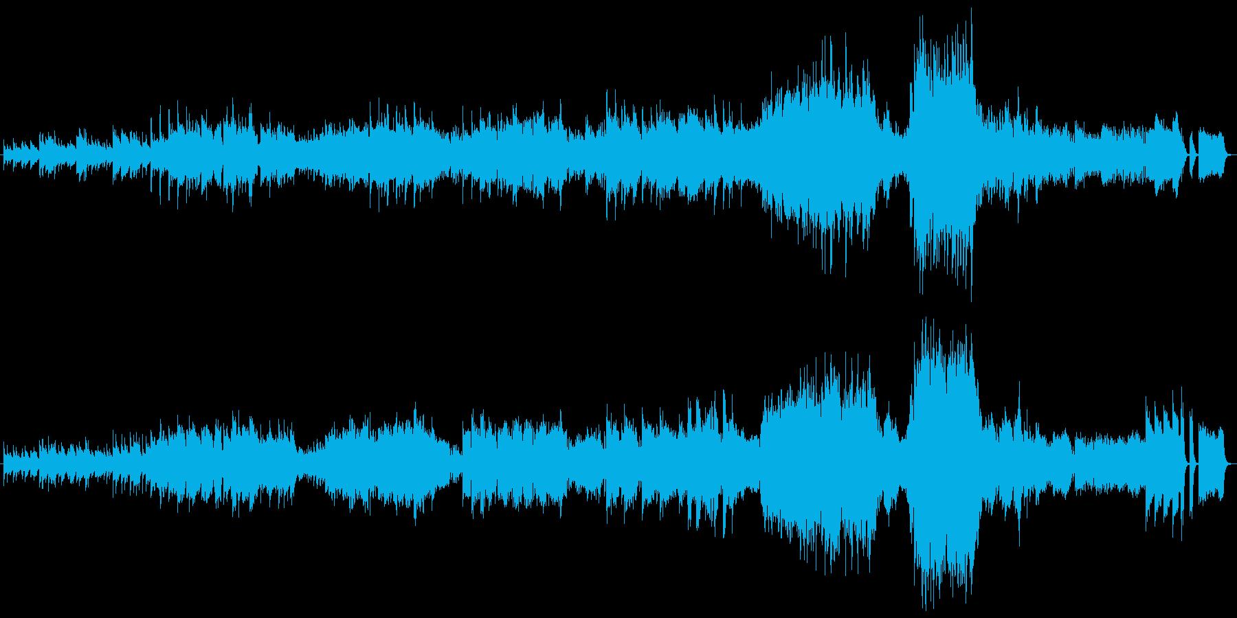 ワルツ 第2番 ピアノ+オケ版の再生済みの波形