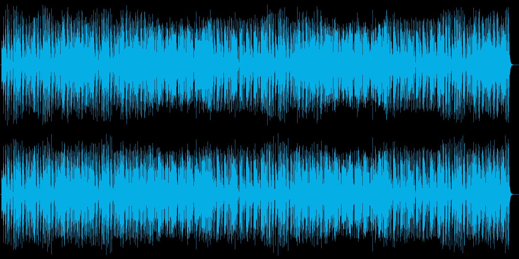 ポップで軽快で可憐なポップスの再生済みの波形
