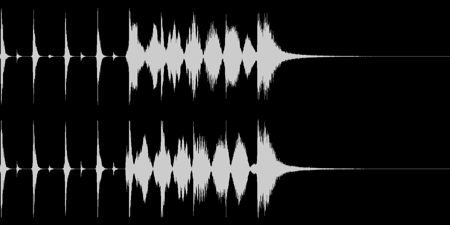 シンキングタイム用/秒針の効果音 !5の未再生の波形
