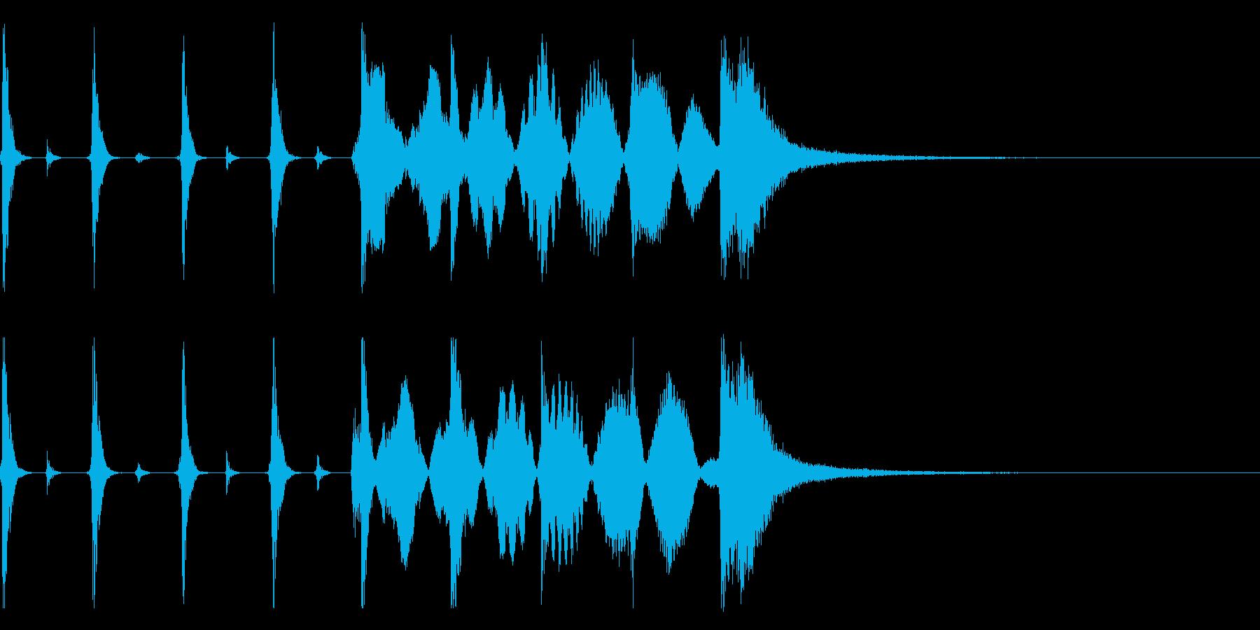 シンキングタイム用/秒針の効果音 !5の再生済みの波形