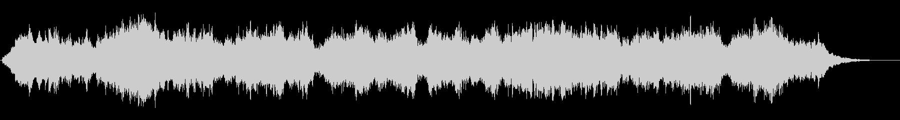 木管アンサンブルによるポップスの未再生の波形