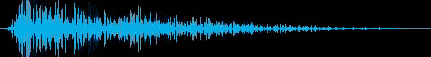 ゴォォ。炎・燃える音B(強・短)の再生済みの波形