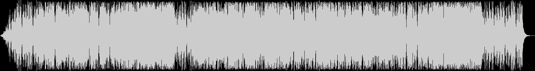 陽気なサックスシンセなどのサウンドの未再生の波形
