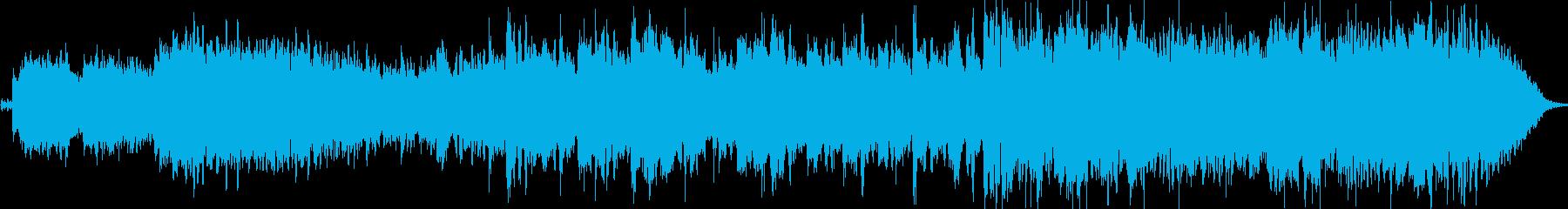 55秒のアイリッシュで情熱的なダンス曲の再生済みの波形