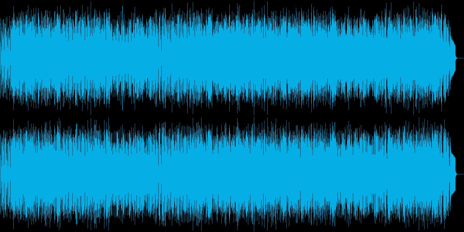 いきいき 軽快 オープニング 元気の再生済みの波形