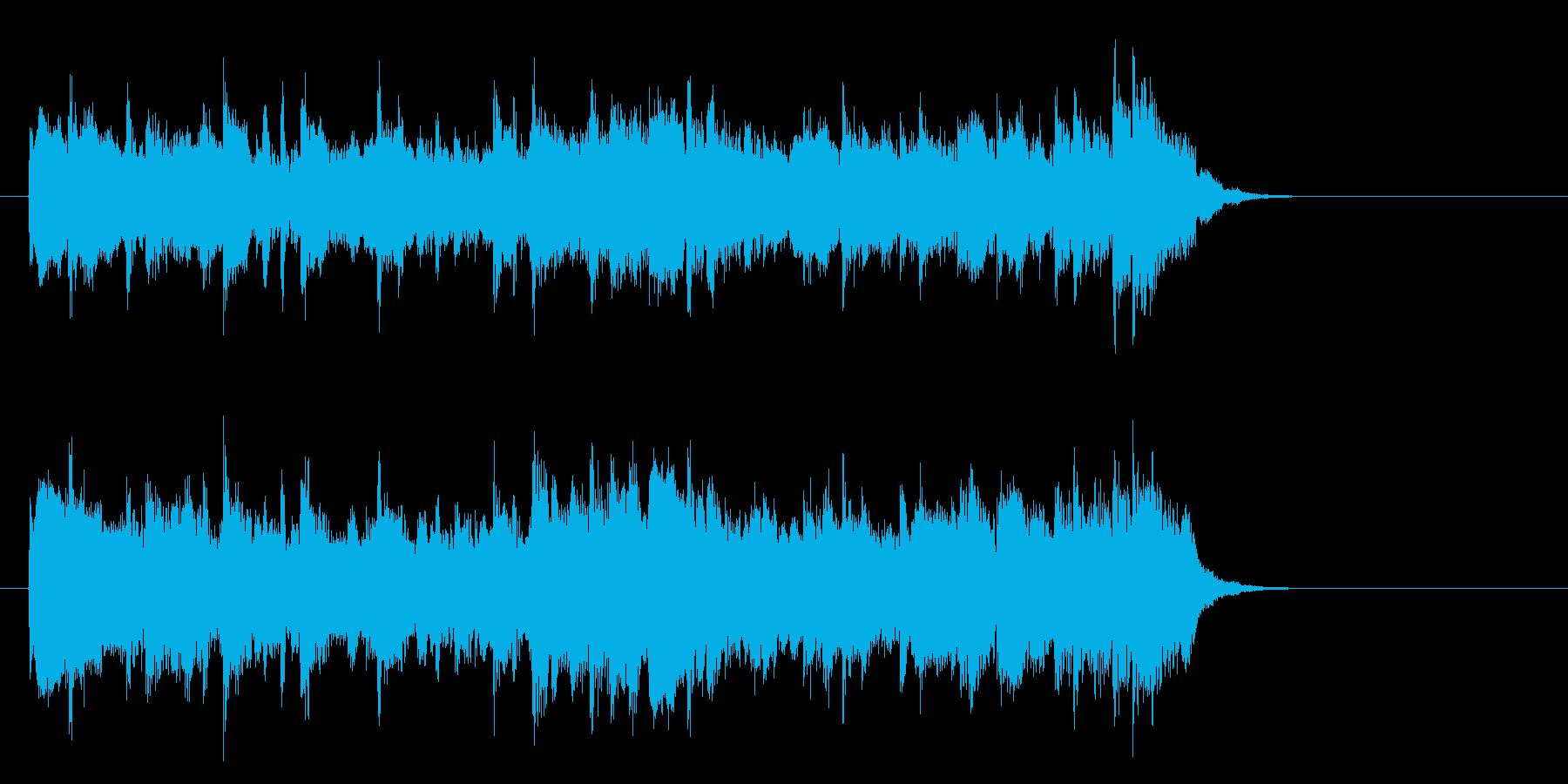アコースティックバラード(サビ)の再生済みの波形